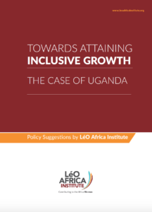 Towards Inclusive Growth