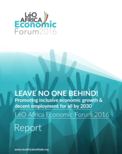 LéO Africa Economic Forum 2016 Report